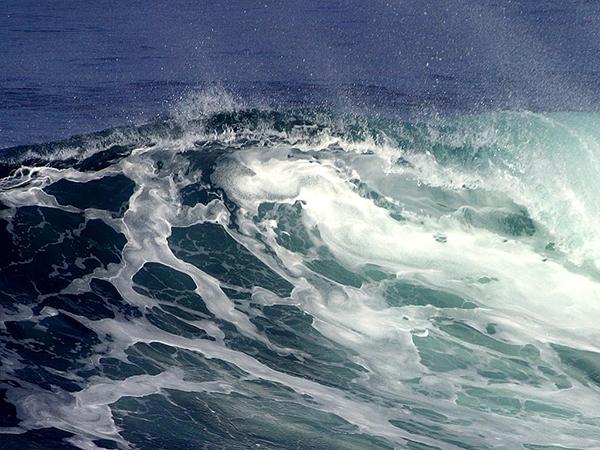 כמו הגלים יורדים ועולים
